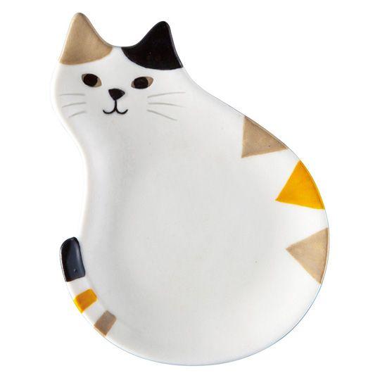 Блюдце 'Happy Cat Day'