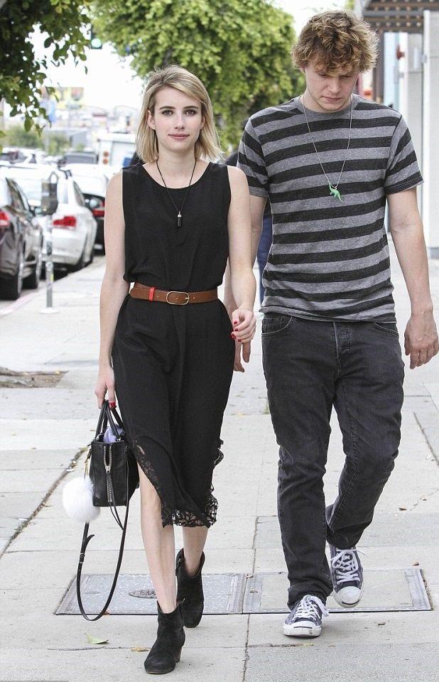 Emma Roberts & Evan Peters