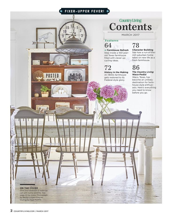 Country Living magazine - March 2017