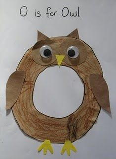 Oo is for owl!                                                                                                                                                                                 More