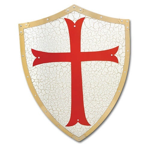 Knights Templar Cross Shield