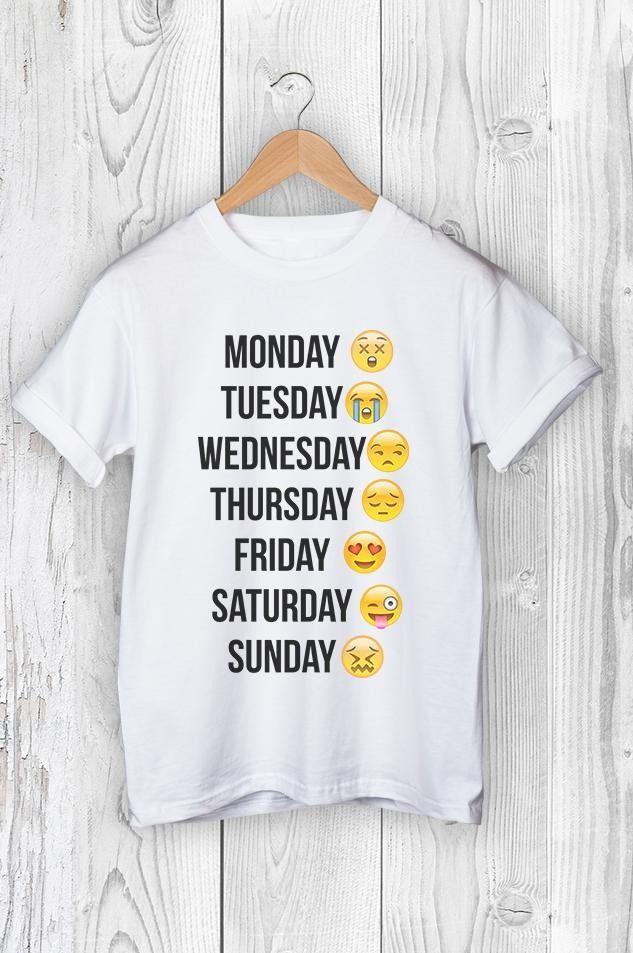 Výsledek obrázku pro emoji trička