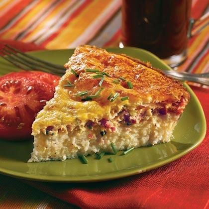 Learn how to make Savory Ham-and-Swiss Breakfast Pie. MyRecipes has 70,000+ tested recipes and videos to help you be a better cook.