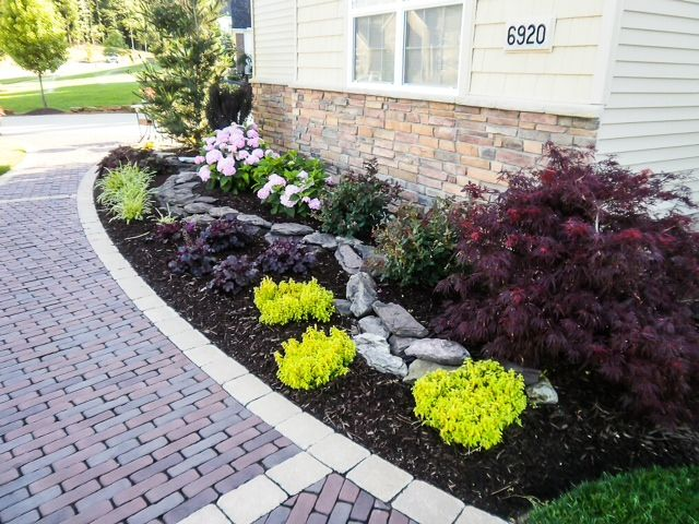 Landscaping Ideas For Front Of House In Northeast : Great landscape design by precision corporation serving northeast