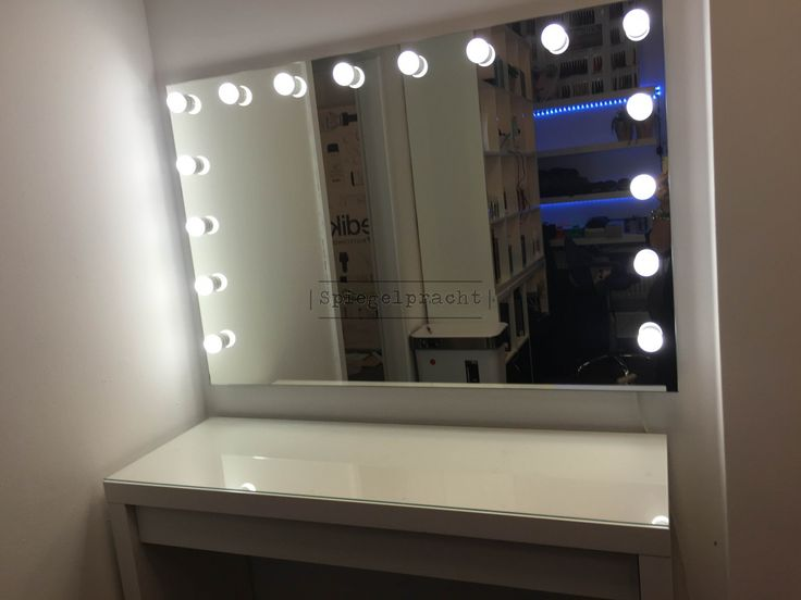 makeup theater visagie spiegel hollywood h01