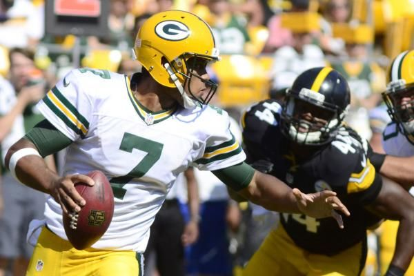 GREEN BAY, Wis.-- Brett Hundley was discussing his first NFL start last week, when he dropped a 10-word sentence that left many jaws agape.