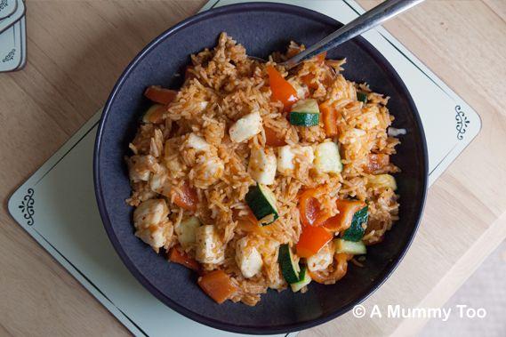 BBQ-rice-with-halloumi-and-chilli-garlic-veg
