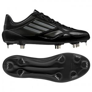 Adidas Adizero Baseball Cleats Mens Black Leather - ONLY $110.00