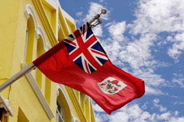 Bermuda flag, Hamilton Bermuda