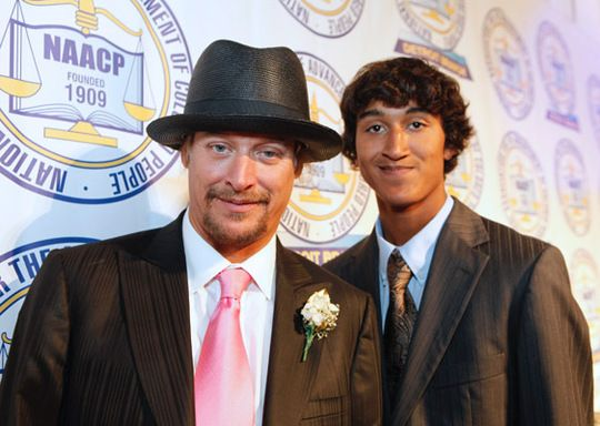 Photo of Kid Rock & his  Son  Robert