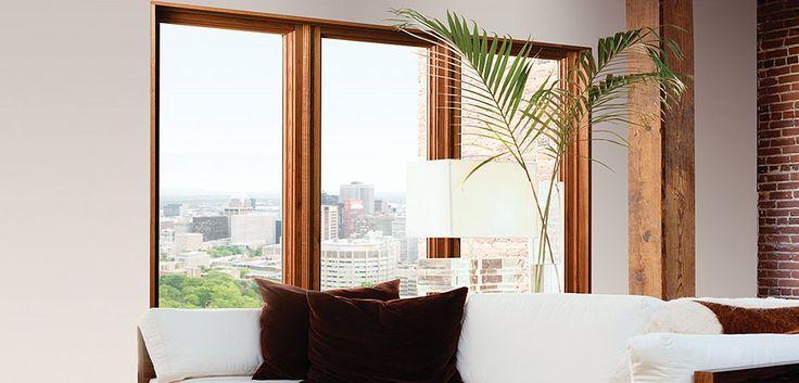 fenêtre collection PVC intérieur en bois