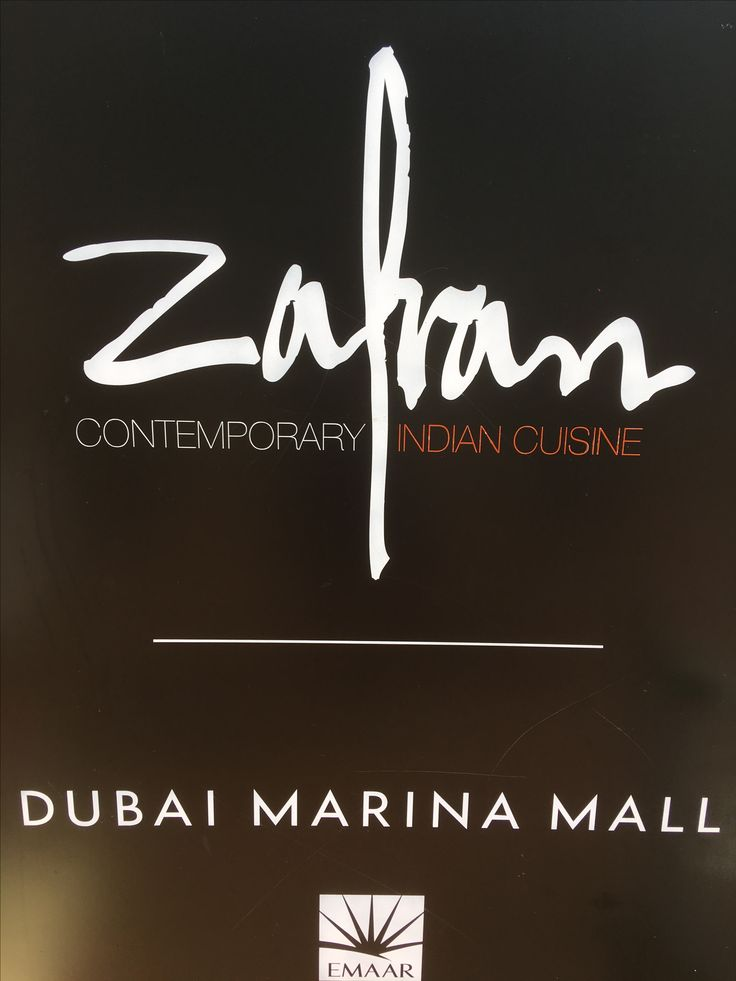 Zafran -indian restaurant Dubai Marina
