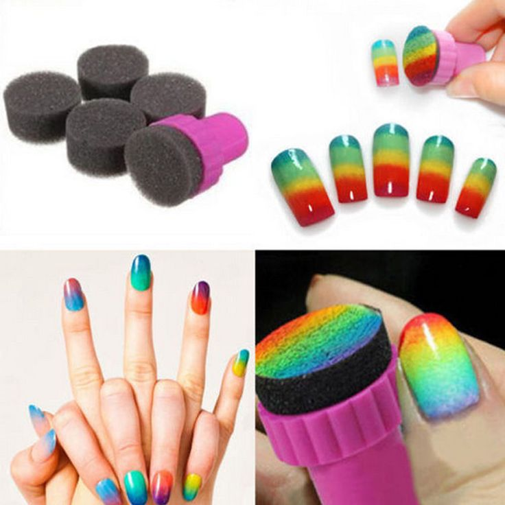 New Woman Salon Nail Sponges for Acrylic Makeup Manicure Accessory in Health & Beauty, Nail Care, Manicure & Pedicure, Nail Art Accessories | eBay!