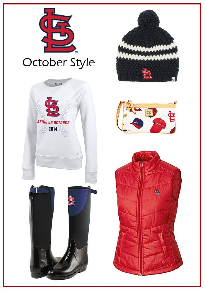 St. Louis Cardinals playoff ready outfit
