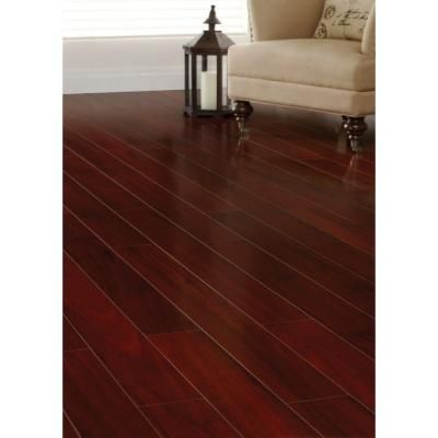 Home Decorators Collection High Gloss Brazilian Cherry 8 mm Thick x 5-5/8 in. Wide x 47-7/8 in. Length Laminate Flooring (18.70 sq. ft. / case)-HL1064 - The Home Depot