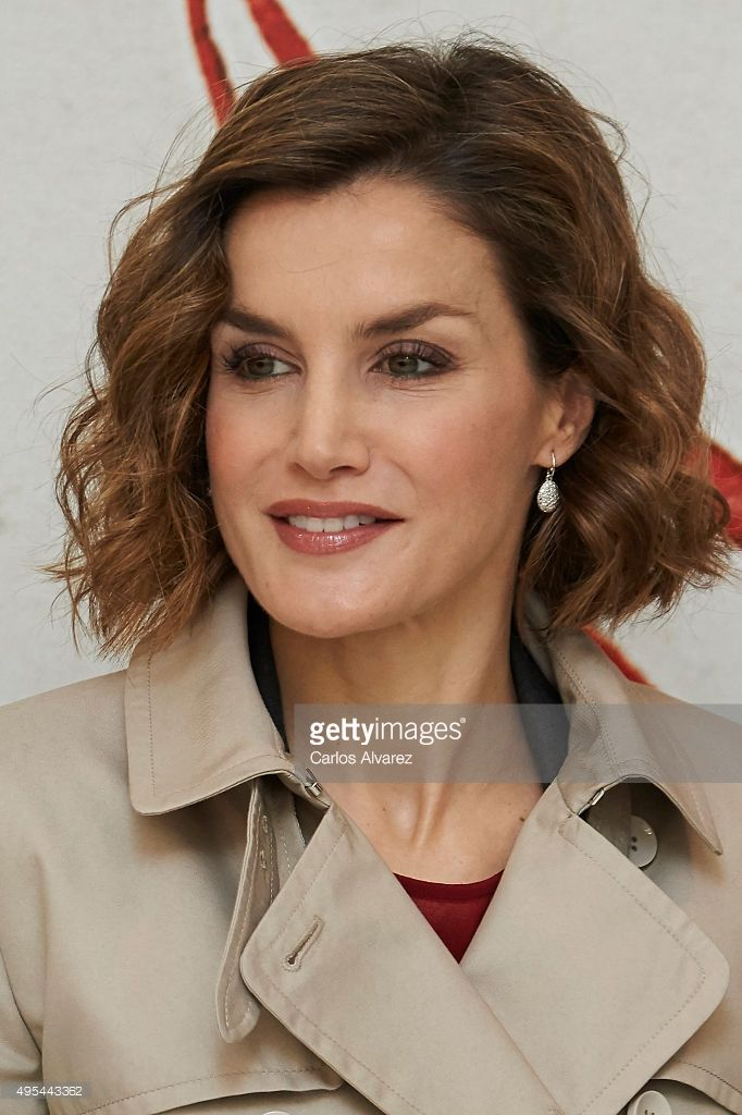 Queen Letizia of Spain attends 'Cooperacion Espanola 2030. Espana y la nueva agenda de desarrollo sostenible' seminar  at the National Library on November 3, 2015 in Madrid, Spain.  (Photo by Carlos Alvarez/Getty Images)