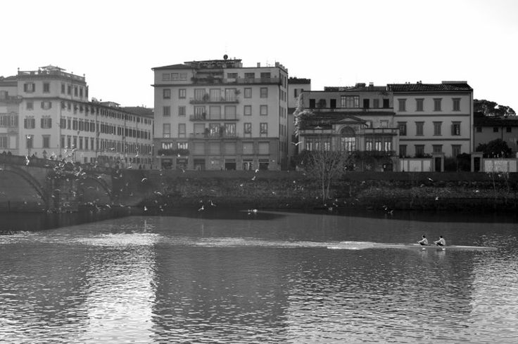Dawn by the Arno | Florence, Italy