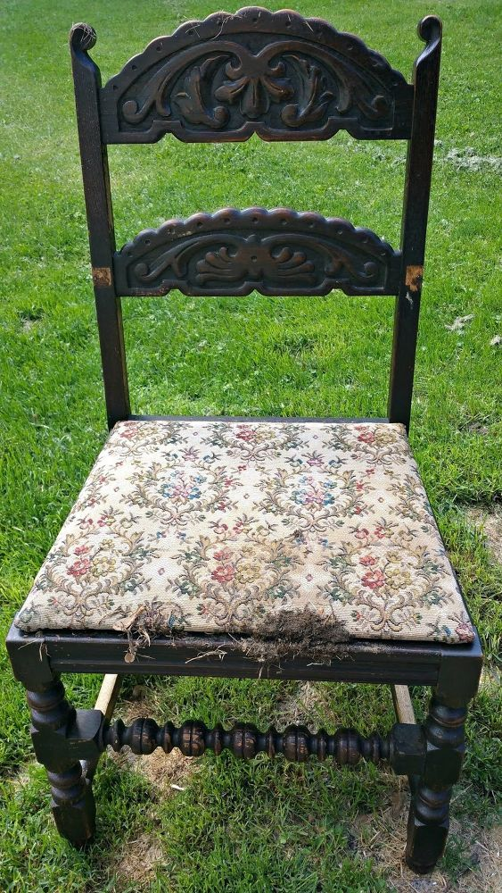 Hometalk | A Southwestern Chair Makeover