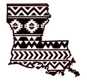 Aztec/Tribal Louisiana Decal Aztec Car Window by ...