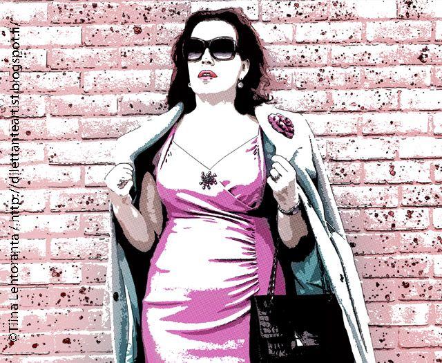 dilettante artist: A portrait of a Diva... x 2