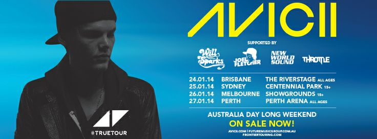 Avicii True Tour support acts announced!