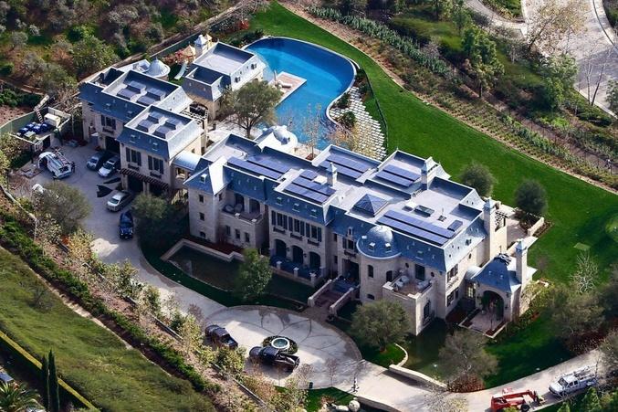 Tom Brady Brentwood Hills, California mansion