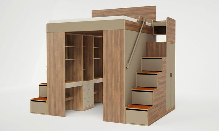 Casa Collection's new Urbano Loft Bed is the answer to your small space storage problems