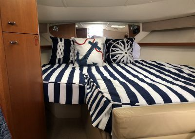 View Our Best Boat Bedding Package Examples & Fabric Choices