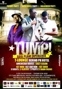 Media Launch of #Tump #6pm #today #T_Lounge #EastLegon. Let get #tumping.