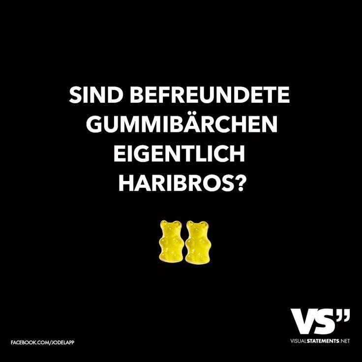 Sind befreundete Gummibärchen eigentlich Haribros? - VISUAL STATEMENTS®