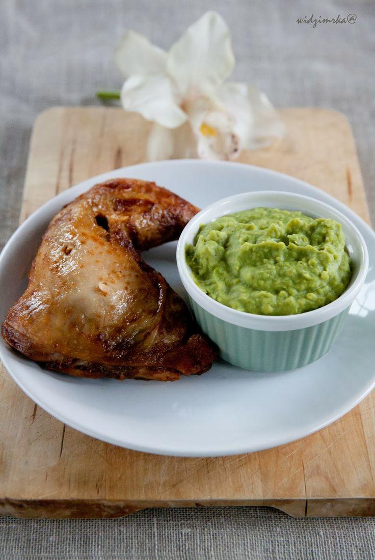 Widzimrka: Puree z zielonego groszku / Green peas puree