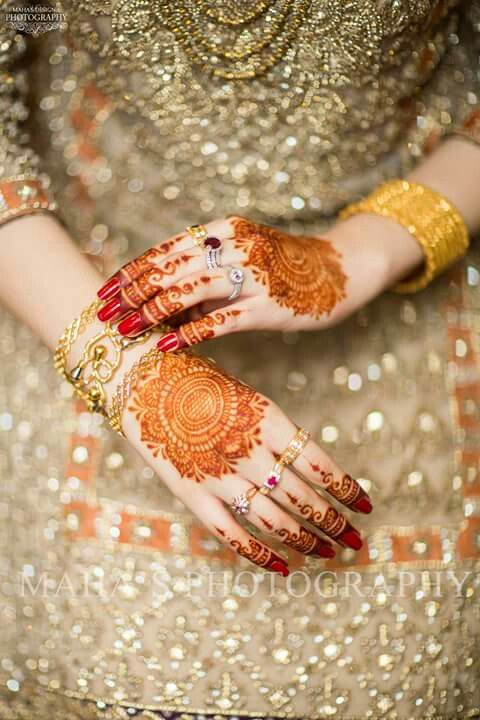 Most beautiful bridal mahndi