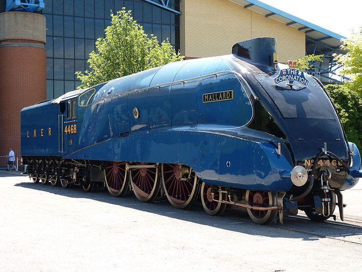Speed record holder 'Mallard' at York. www.haveit.cz