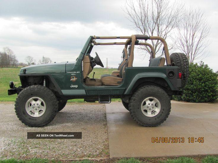 2000 Lifted Jeep Wrangler Sahara