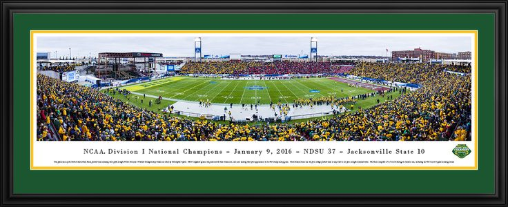 This 2016 NCAA FCS Football Championship Panoramic Picture was taken by Blakeway Worldwide Panoramas and is available in many different formats!