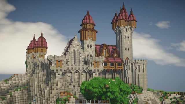 Progress On My Castle Build  What Do You Think