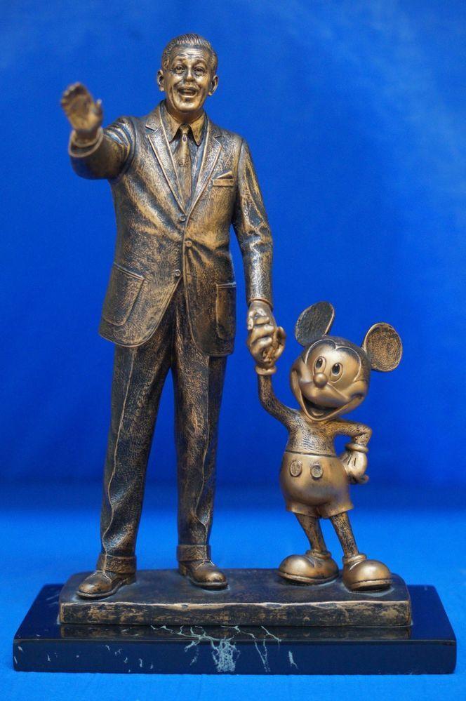 Mickey Mouse Walt Disney Partners Bronze Statue 14 ...