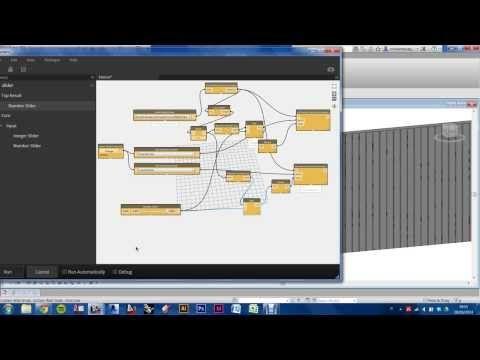 Revit dynamo random pattern facade youtube dynamo for Curtain creator software