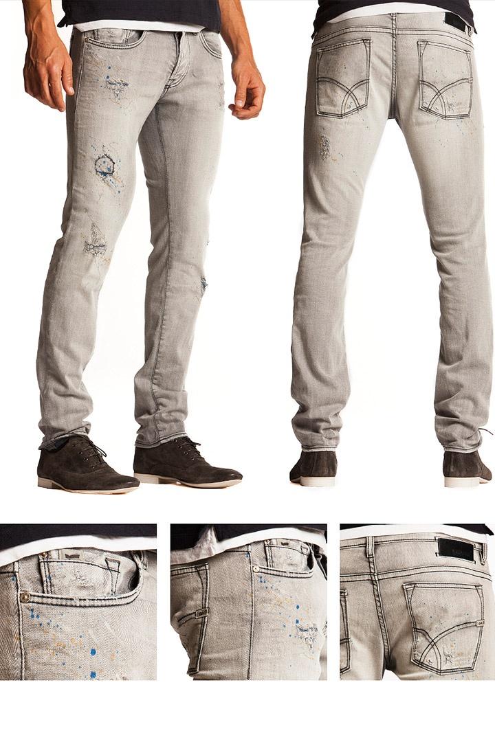 SS13 Men's Jeans.   Fit: slim Model: Anders