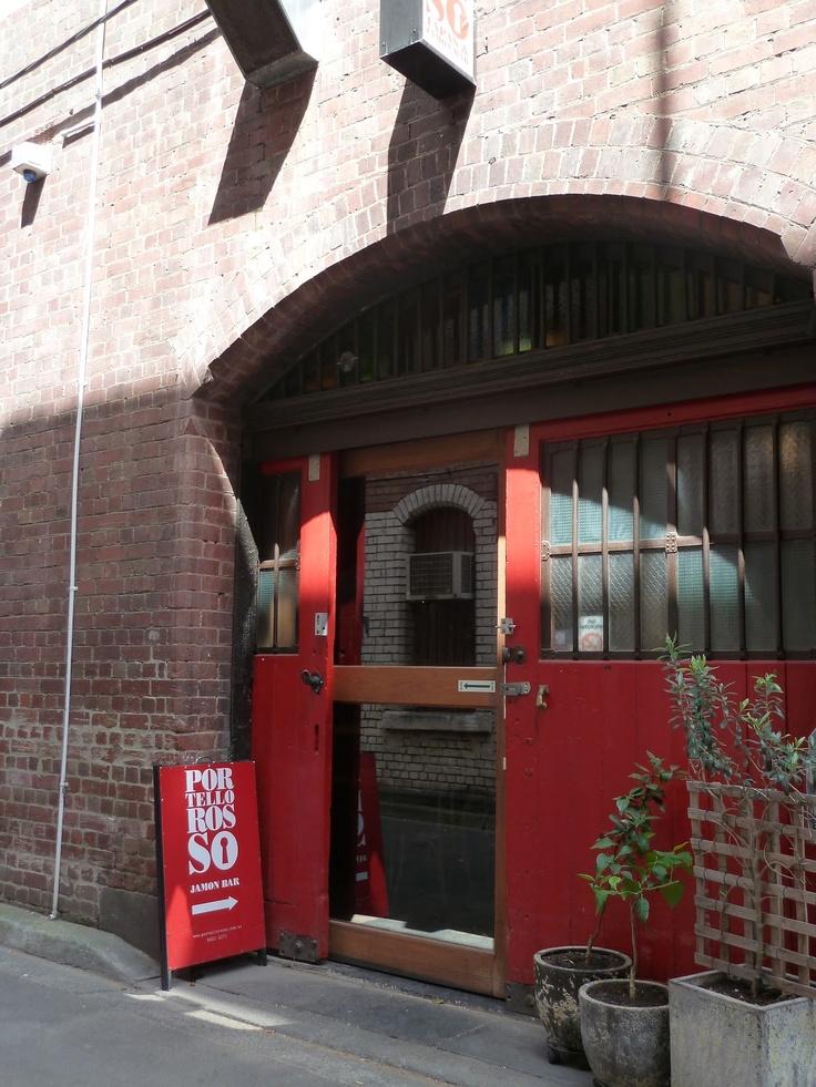 Portello Rosso, Melbourne – lovely spot for tapas (especially the roasted belly pork)