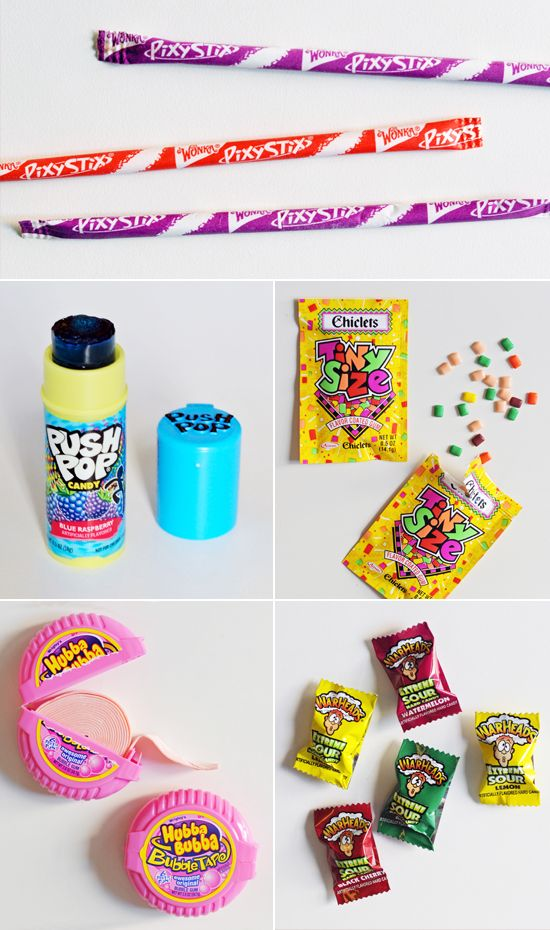 Push Pops, Pixy Stix, Warheads, and other reasons it was sweet to be a '90s girl