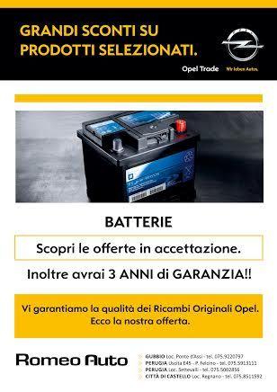 Batterie! Per saperne di più, visita www.romeoauto.it o chiama i responsabili delle nostre concessionarie! (Tutti i recapiti telefonici sul sito) #auto #umbria #concessionaria #romeoauto #macchine #motori #vendita #news