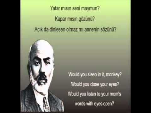 Bebek Yahut Hakk-ı Karar - mehmet akif ersoy - safahat - yusuf ziya özkan