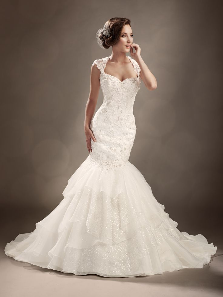 Designer Wedding Dresses by Sophia Tolli  |  Wedding Dresses  |  style #Y11313 - Glimmer SO PRETTY