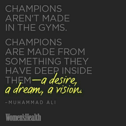 champions quote quotes pinterest feelings champion