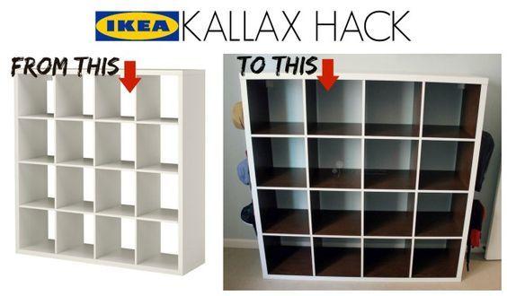 best 25 ikea kallax hack ideas on pinterest kallax hack ikea expedit and ikea kallax. Black Bedroom Furniture Sets. Home Design Ideas