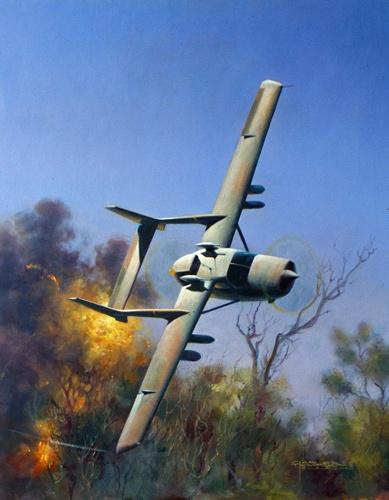 "Cessna Lynx in Rhodesian service...a ""ballsier"" version of the 337 SkyMaster."