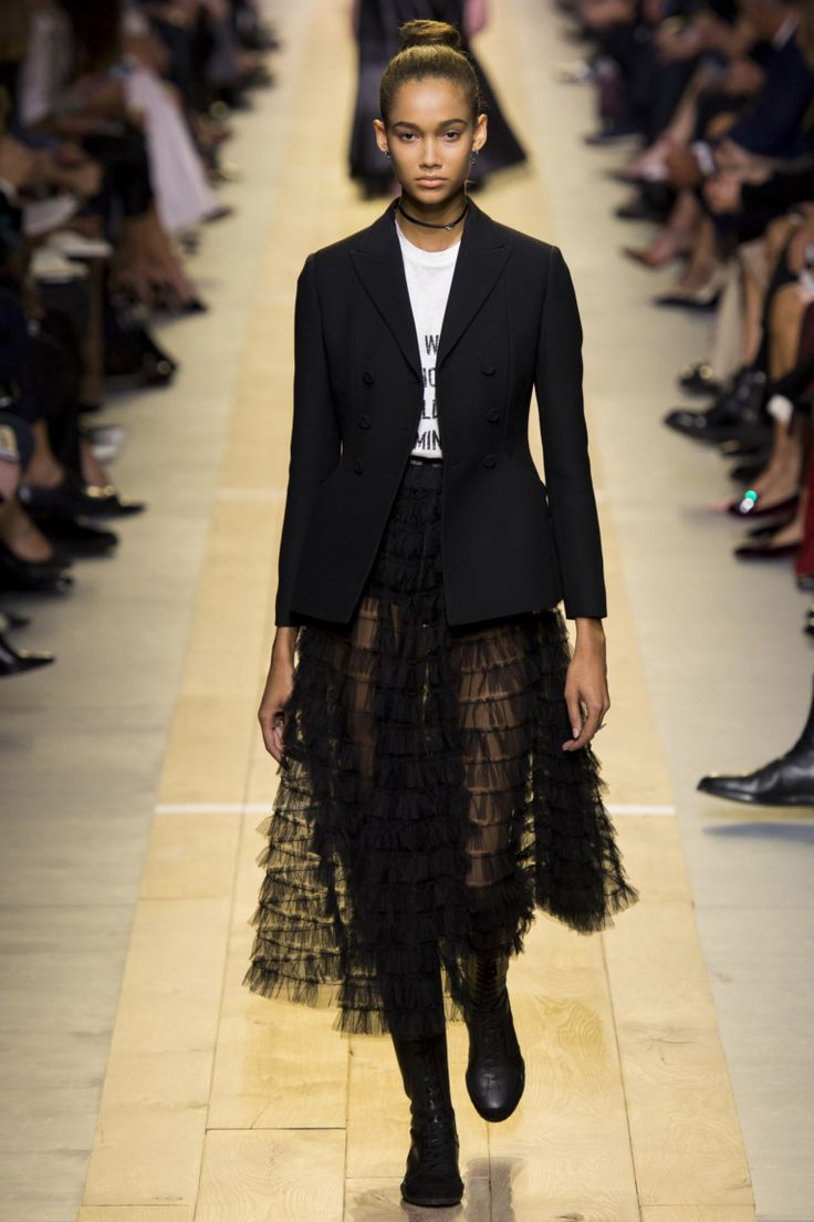 Christian Dior коллекция | Коллекции весна-лето 2017 | Париж | VOGUE
