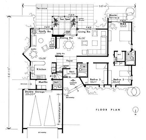 cottage floor plans also  in addition passive solar house designpassive solar besides precast concrete house plans also a model dome light. on sips home plans