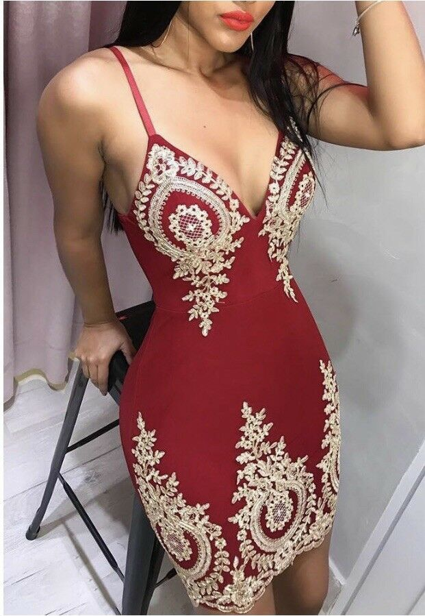 f7930a3756315 spaghetti strap Deep V Neck dress  fashion  clothing  shoes  accessories   womensclothing